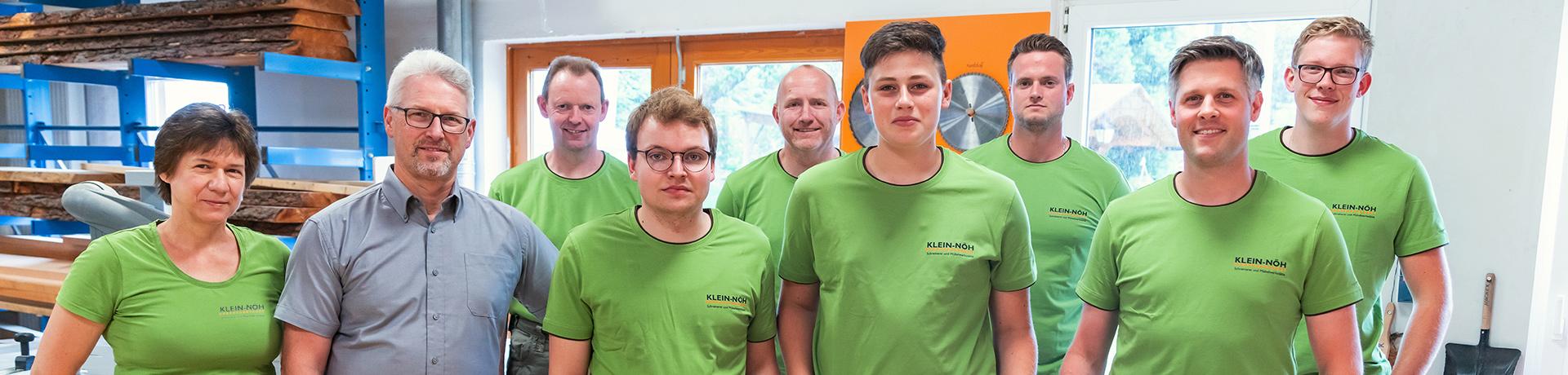 Team Schreinerei Klein Nöh in Netphen